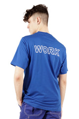 WORK T-shirt - Blue