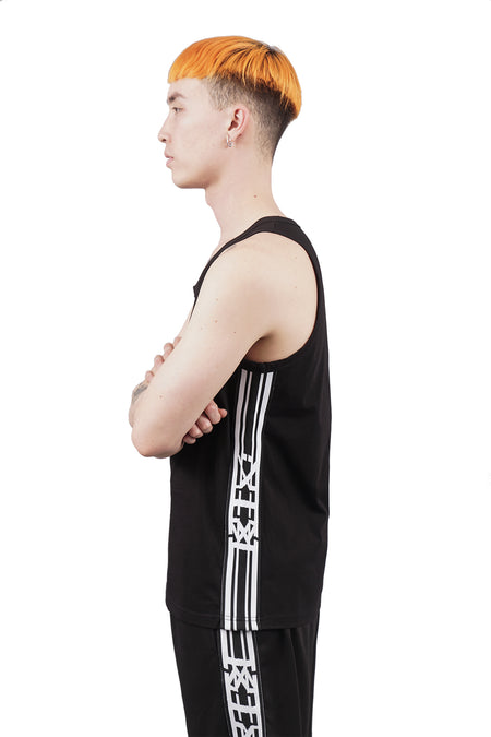 Arm Vision Tank Top - Black