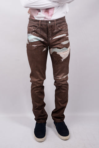 Julian's Brown Denim - 60% Off! Only 1 Left!