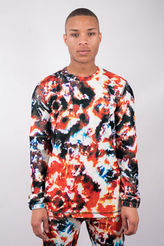 Fire Batik Sweater - 70% Off!