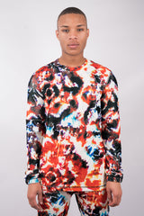 Fire Batik Sweater - 50% Off!