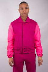 Football Jacket - Pink - 50% Off!
