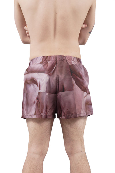 Naked Print Swim Shorts