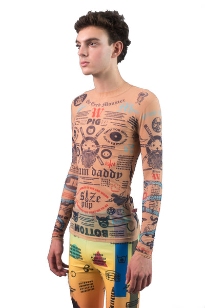 Tattoo Long Sleeve Tee