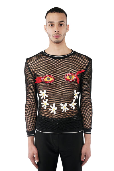 Face Mesh Sweater