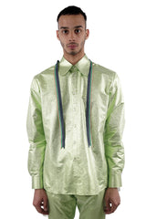 Ribbon Shirt - Green