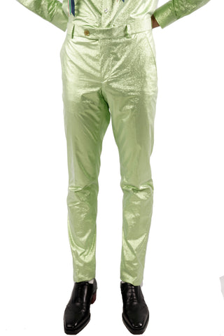 Extra Sharp Trousers - Green - 60% Off!