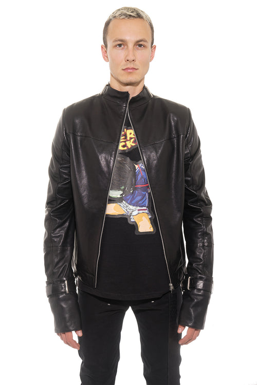 Sado Leather Jacket
