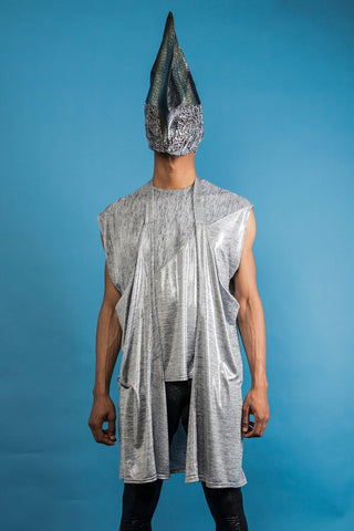 Tidal Tunic - Silver - Sold Out!