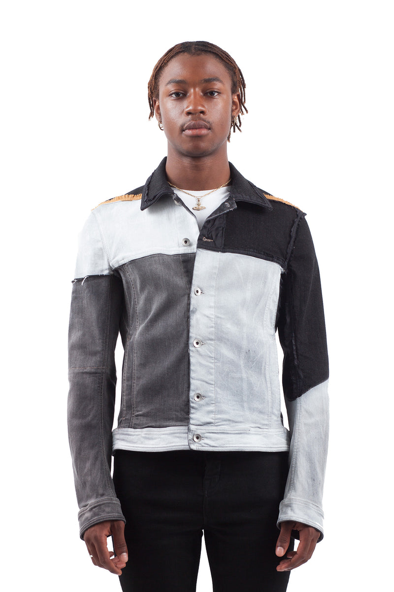Worker Jacket - Contrast Panels