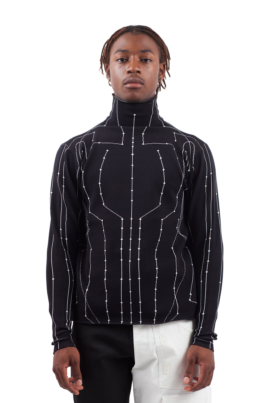 Chip Turtleneck - Black