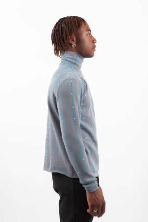 Chip Turtleneck - Blue