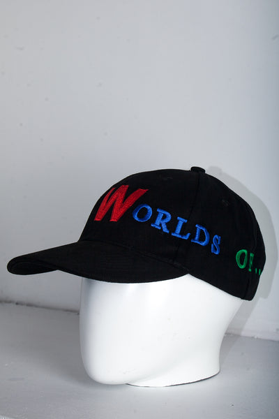 Worlds of Sun & Moon Cap - Black