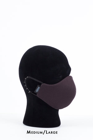 Neoprene Mesh Mask - Dark Grey