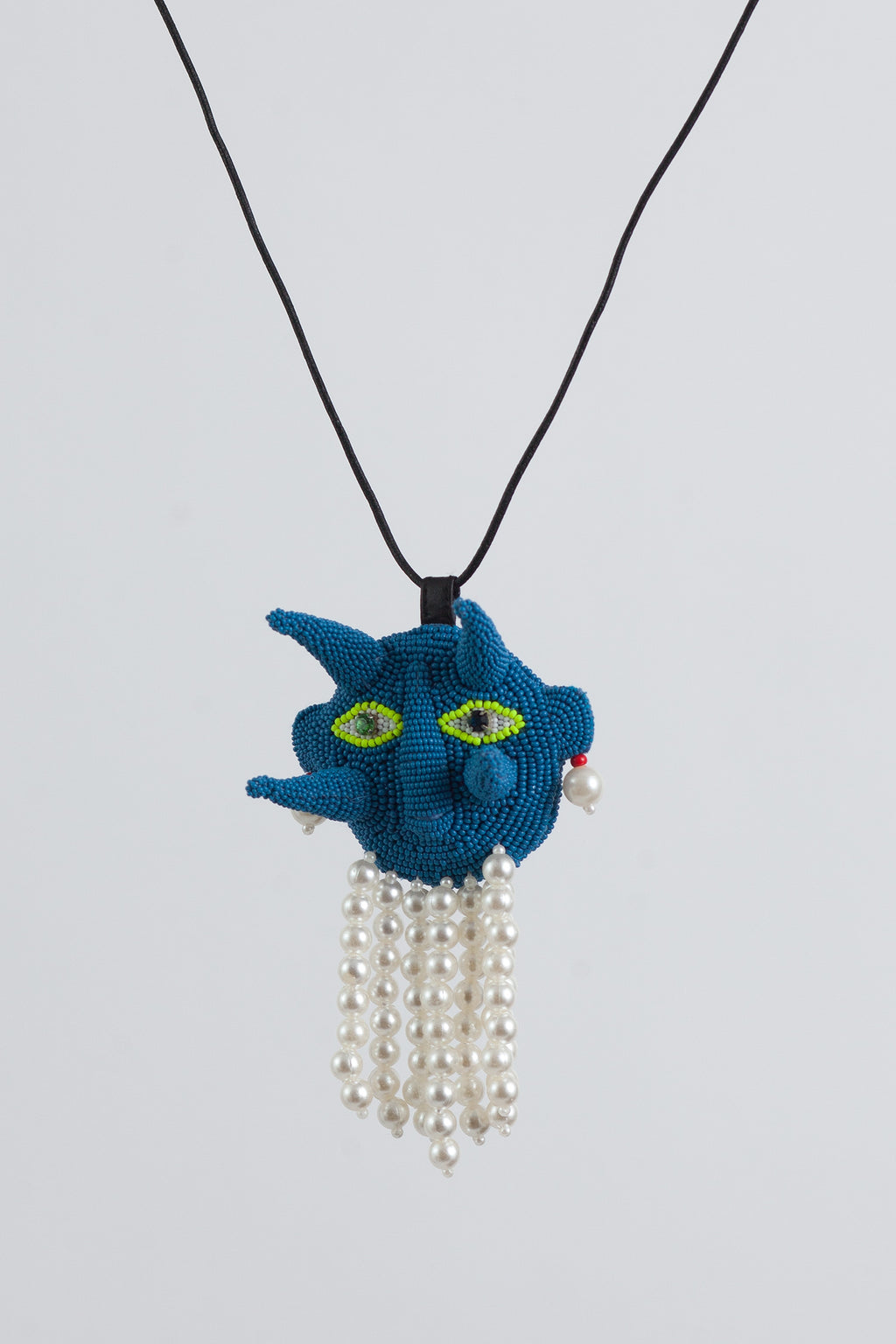 Spiky Walter Necklace - Blue