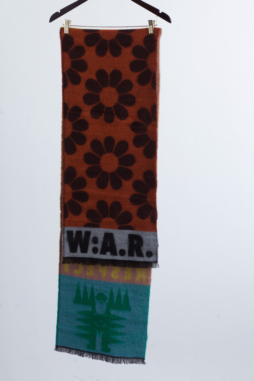 W:A.R. Scarf - Single - Yellow/Pink