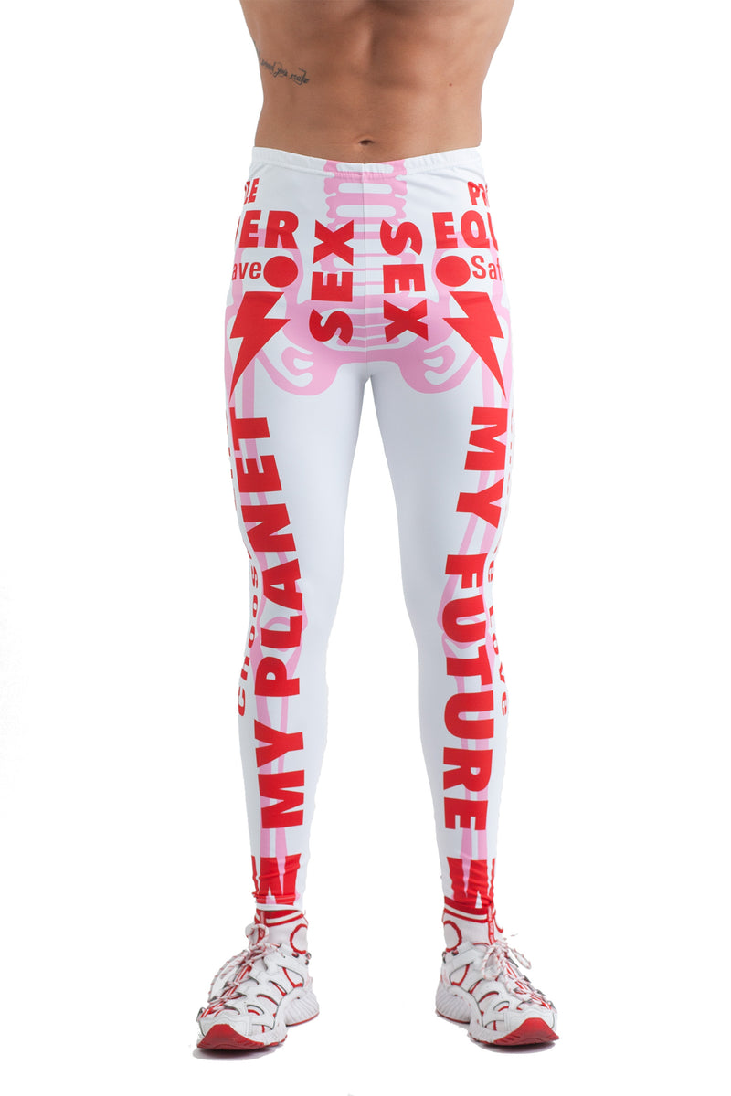 W:A.R. Skeleton Bike Leggings
