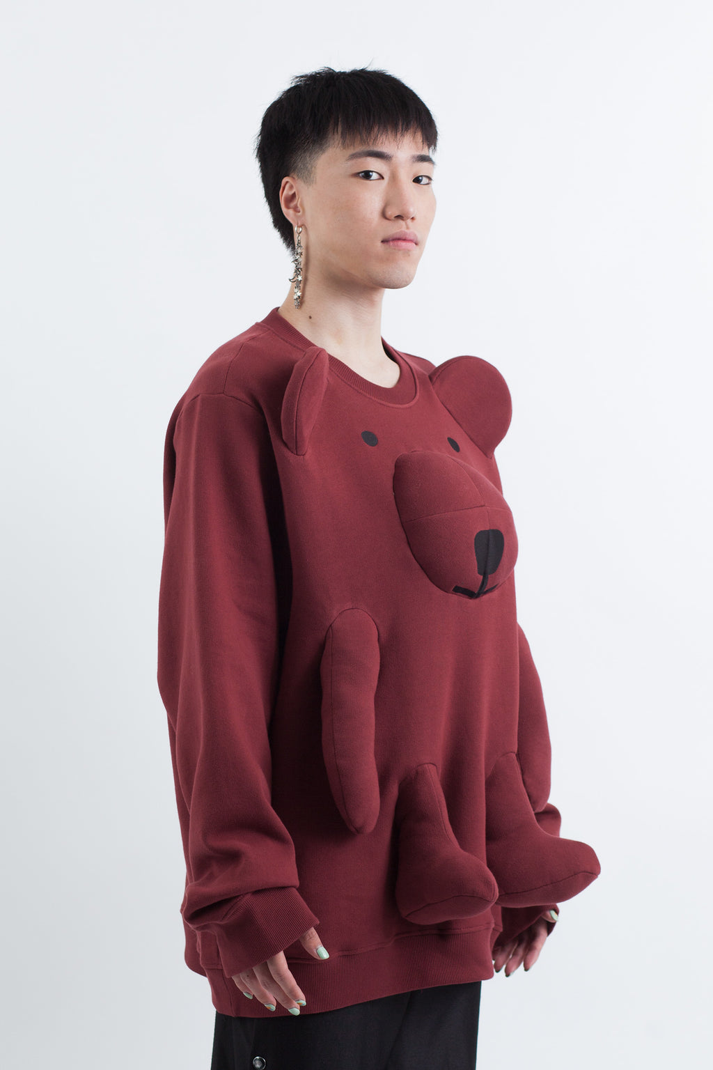 Bear Sweatshirt - Oversized