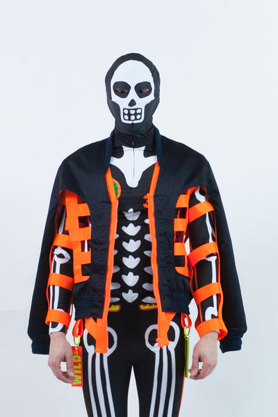 Skeleton Bomber Jacket