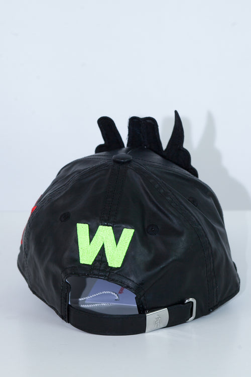 W Peace Cap - Black