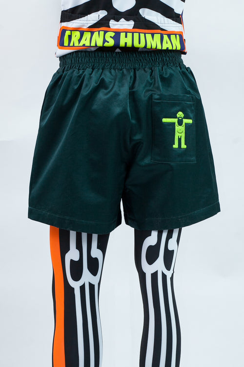 W Boxer Shorts - Petrol Green