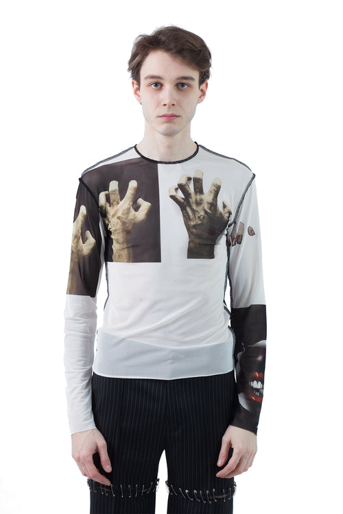 Monster Mesh Top - Hands