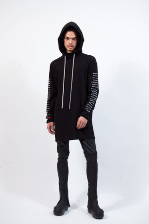 Long Hoodie - Collection Print