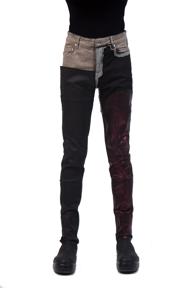 Tyrone Jeans - Contrast Panels