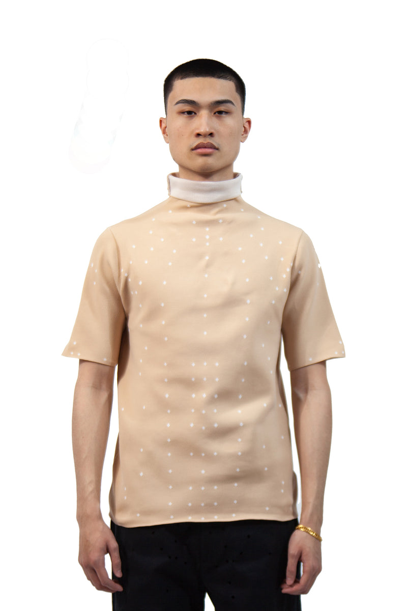Humanoid Knit T-Shirt - Sand