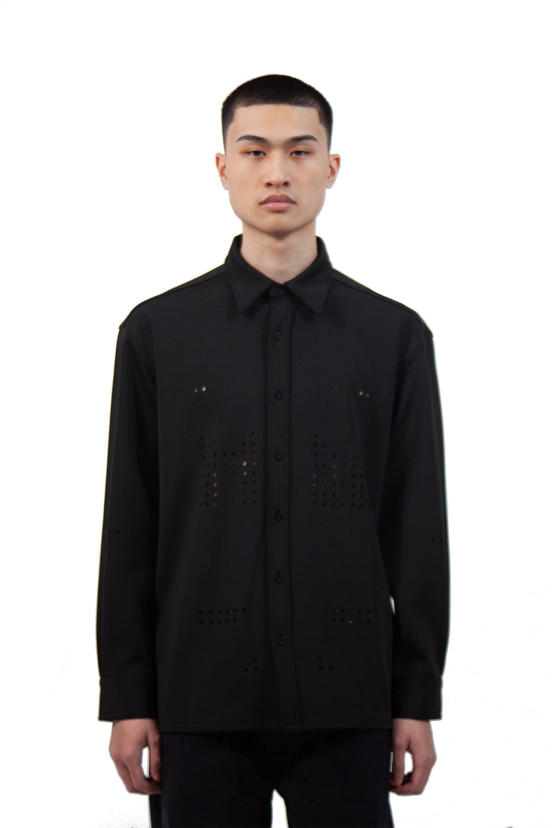Neoprene Shirt Jacket