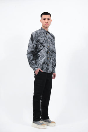 Slim Shirt - Anthony Newton Print