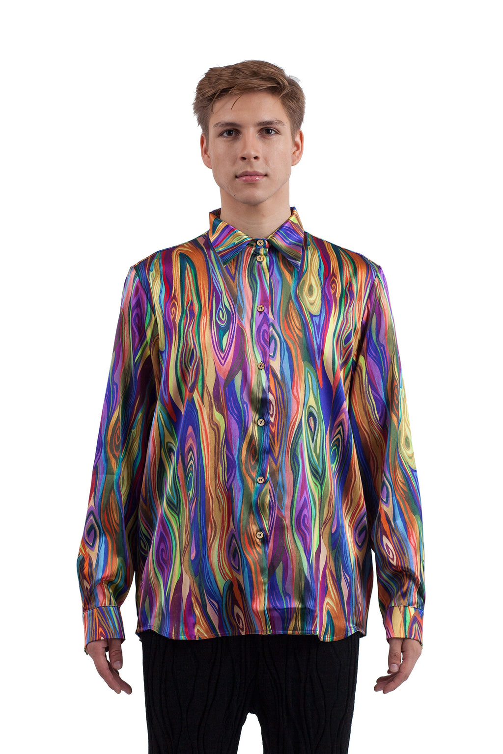Psychedelic Wood Shirt
