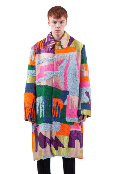 Khiva Coat - Bright Drip