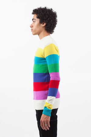 Color Bar Sweater