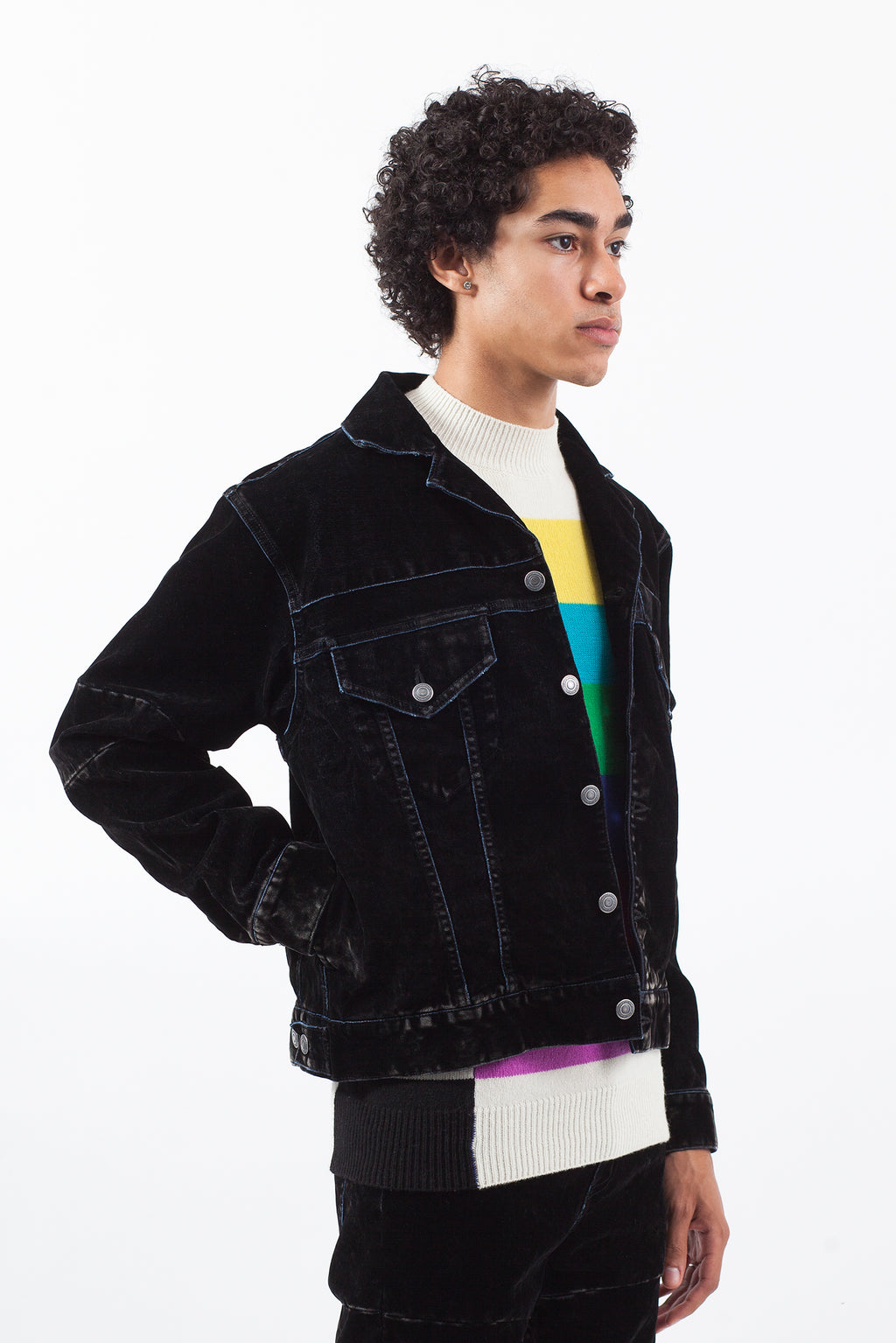 Flock Denim Jacket