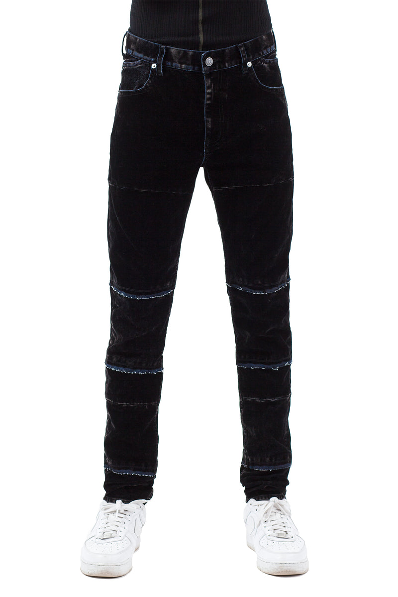 Flock Denim Trousers