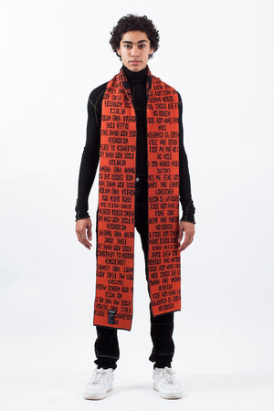 SIGNAL NOISE Quotes Scarf
