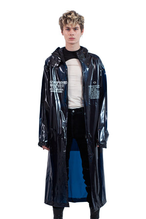 Translucent Blue Parka