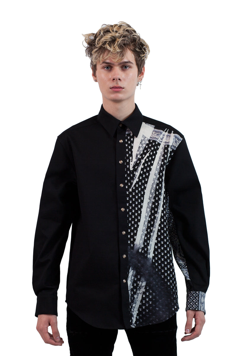 Shawl Panel Shirt