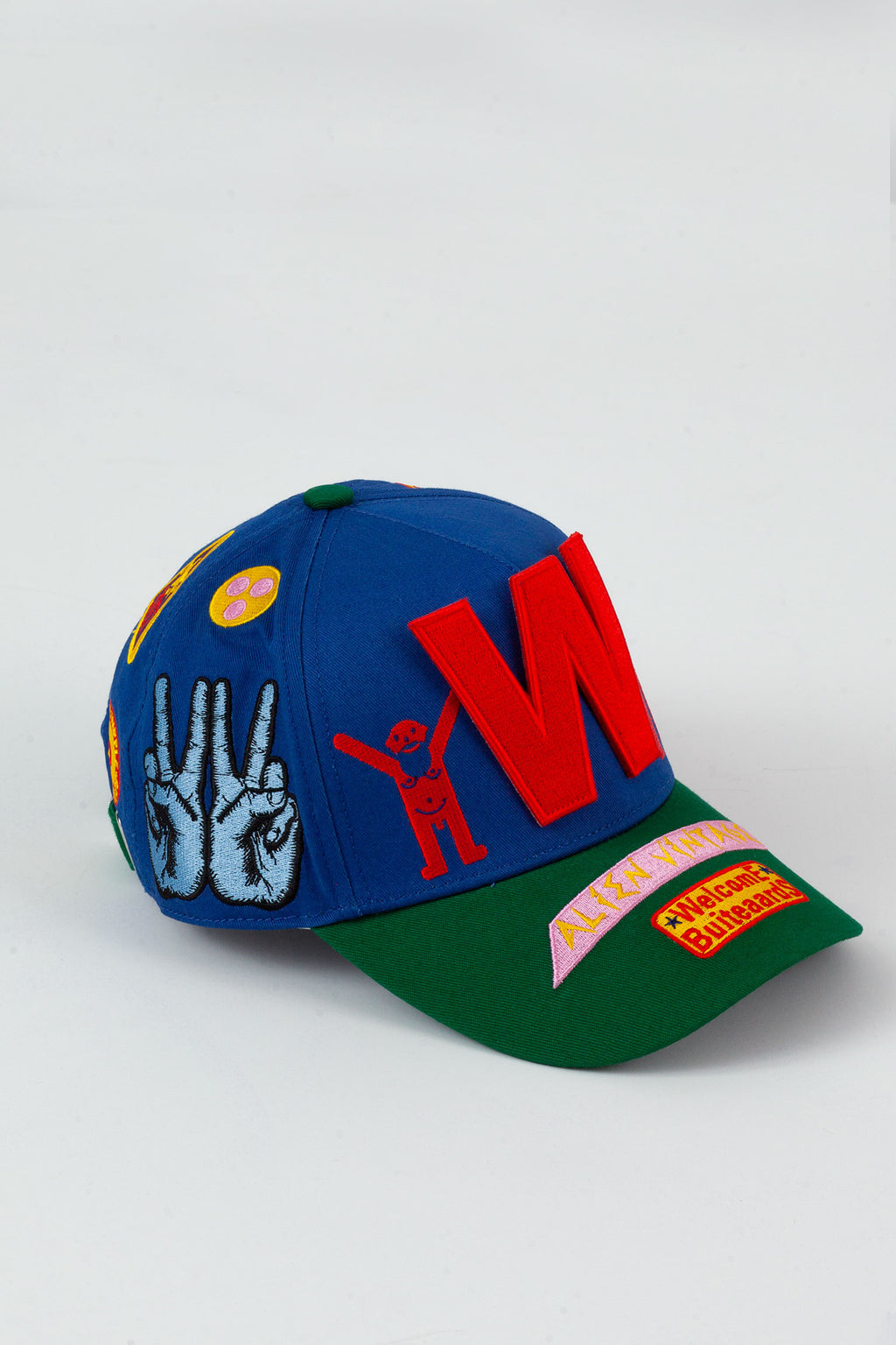 WitblitZ Cap - Blue/Green