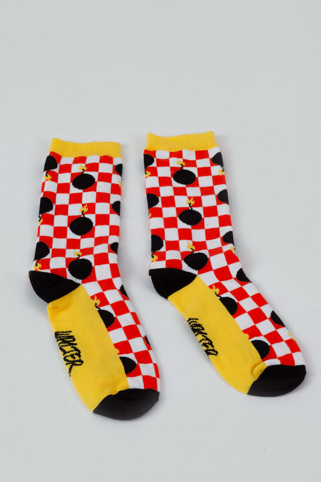 Bomb Socks - Short - Red