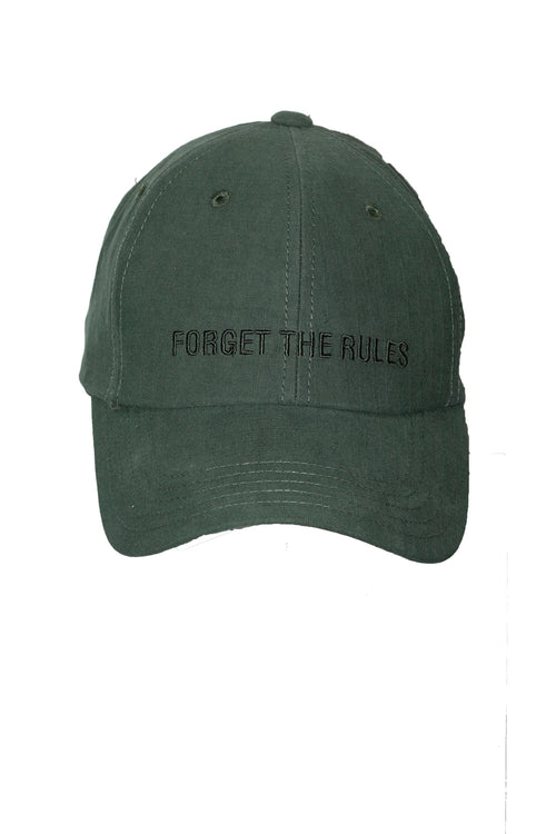 FORGET THE RULES Cap - Green