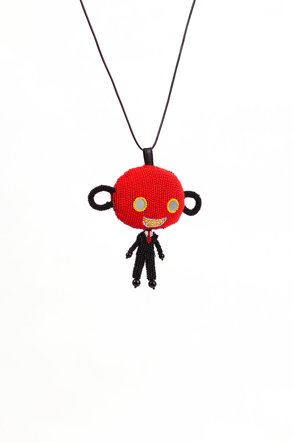 Skattebol Necklace - Red