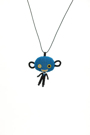 Skattebol Necklace - Blue