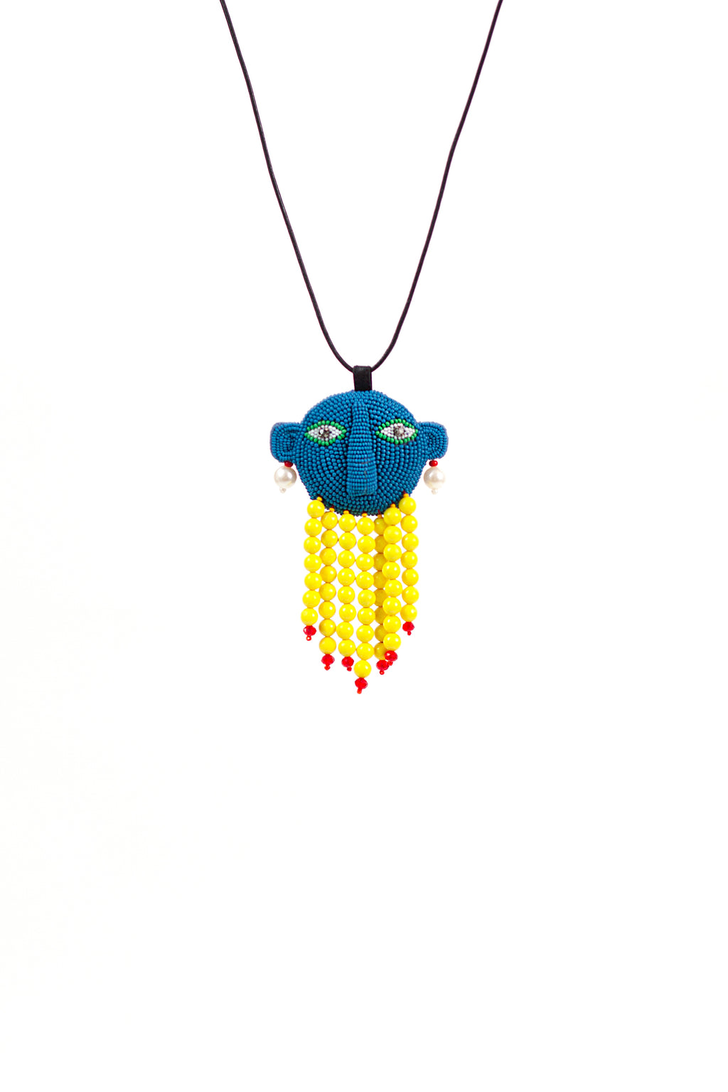 Alien Walter Necklace - Blue