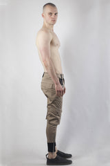 Utility Cargo Pants - Khaki - Sold Out!