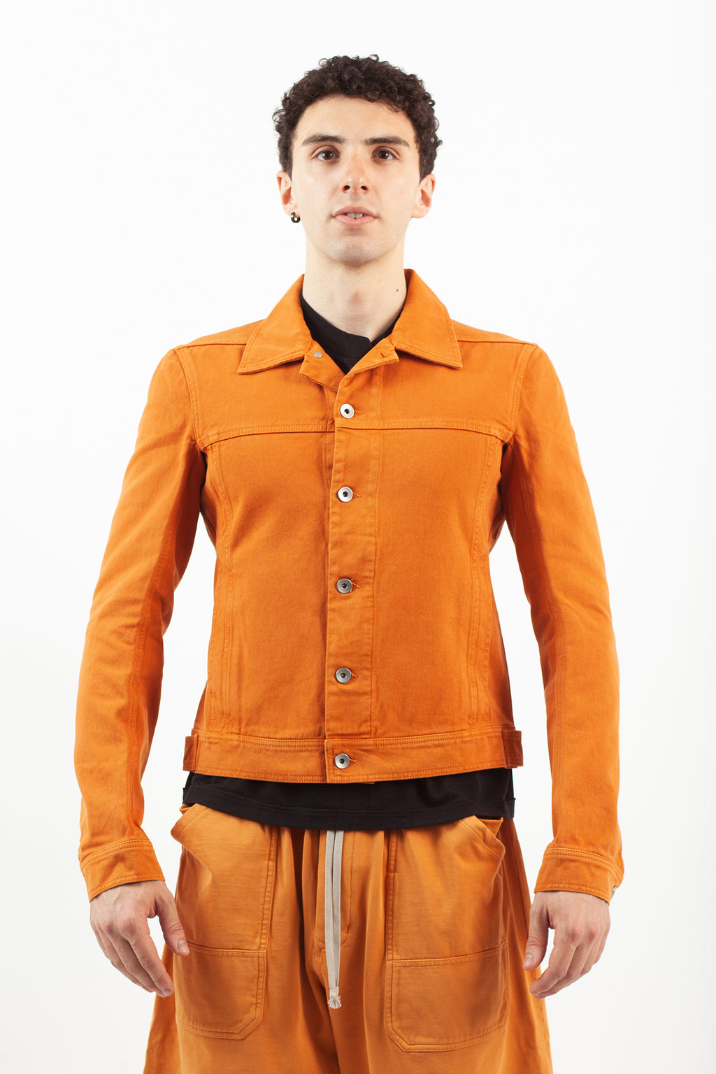 Worker Jacket - Tangerine