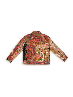 Patchwork Jacket - Flame
