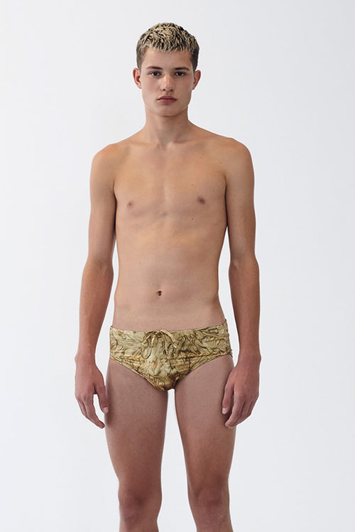 24 Karat Silk Swim Brief