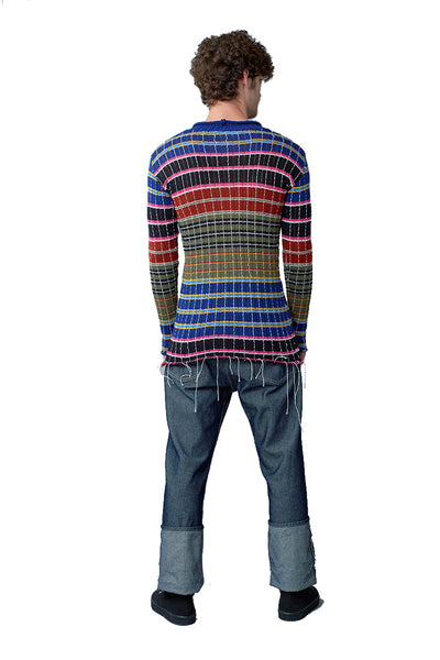Striped Knit Jumper - Multi